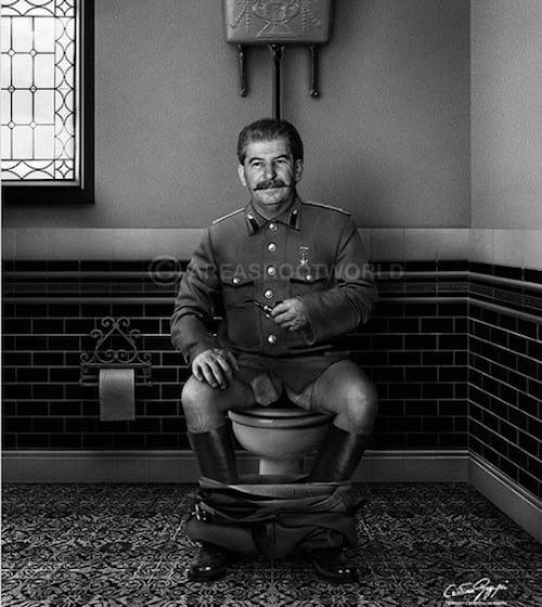 Staline vu par Cristina Guggeri