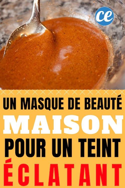 vif et grand en style magasins populaires qualité incroyable Un Masque de Beauté Maison Pour Retrouver un Teint éclatant.