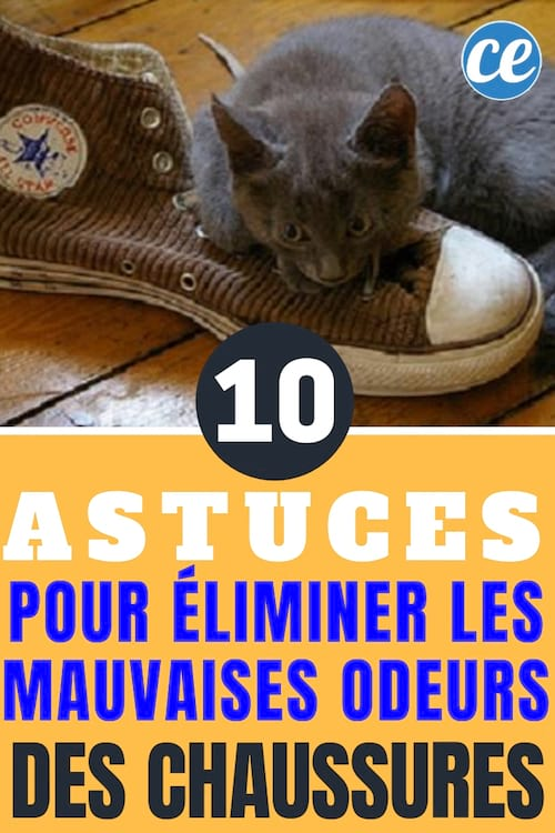 10 astuces super efficaces pour enlever les mauvaises odeurs des chaussures. Black Bedroom Furniture Sets. Home Design Ideas