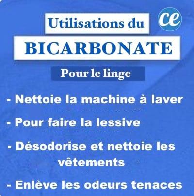 comment utiliser le bicarbonate de soude pour laver son linge