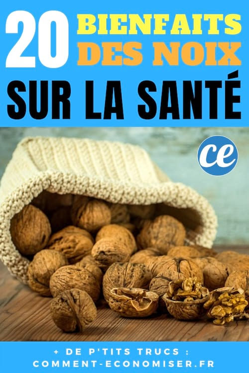 20 bienfaits des noix sur la santé, la beauté, les cheveux et le poids.