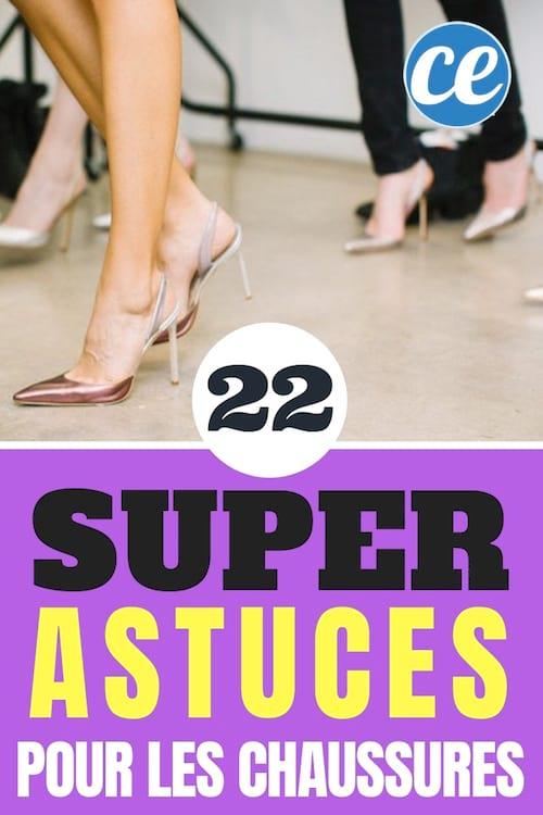 22 astuces géniales pour prendre soin de ses chaussures et de ses pieds en même temps