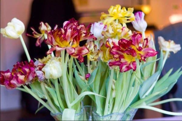 la vodka aide à faire tenir les fleurs plus longtemps