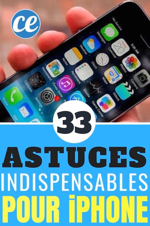 foto de 33 Astuces Indispensables Pour iPhone Que Personne Ne Connaît.