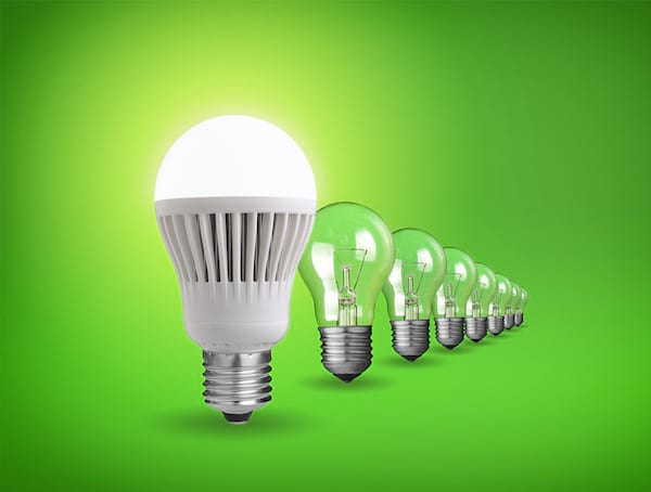 Les ampoules LED ont une durée de vie de 25 000 heures !