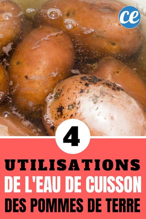 eau de cuisson des pommes de terre : que faire avec ? 4 astuces à connaître pour la réutiliser