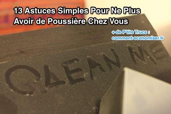 Astuces contre la poussière à la maison