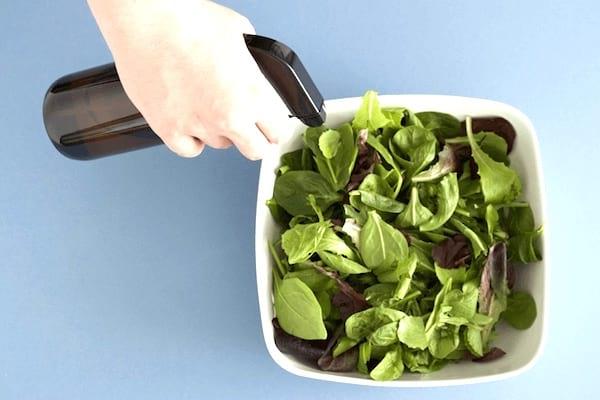eau oxygénée pour garder salade fraiche