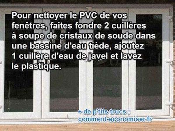 La Recette Pour Nettoyer Sans Effort Les Fenetres En Pvc