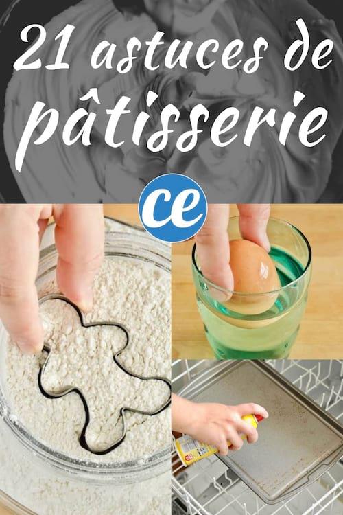 21 astuces de pâtisserie qui vont vous simplifier la vie en cuisine