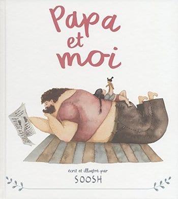 """""""Papa et moi"""" réunit toutes les magnifiques aquarelle de Snezhana Soosh en un seul album."""