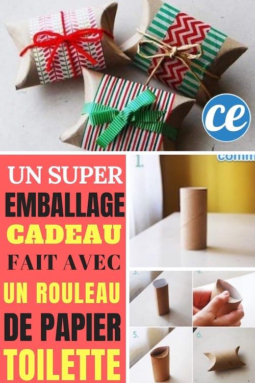 Comment Faire Un Super Emballage Cadeau Avec Un Rouleau De Papier