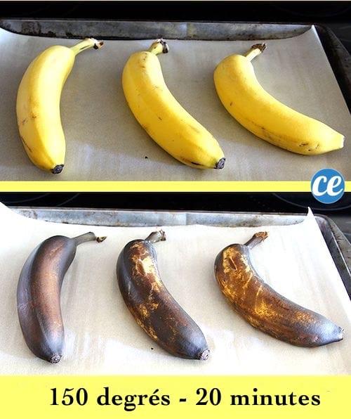comment faire murir les bananes vite