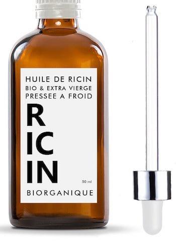 Acheter de l'huile de ricin pas cher bio