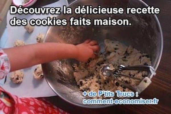 recette facile et rapide du cookie maison