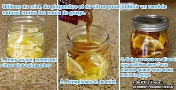 Soignez vos maux de gorge avec ce remède
