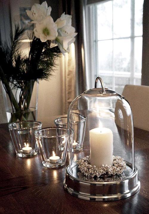 34 superbes id es de d coration avec des bougies. Black Bedroom Furniture Sets. Home Design Ideas