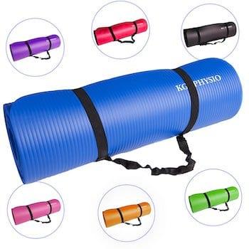 Utilisez un bon tapis de sol gym & fitness pour fire l'exercice de la planche.