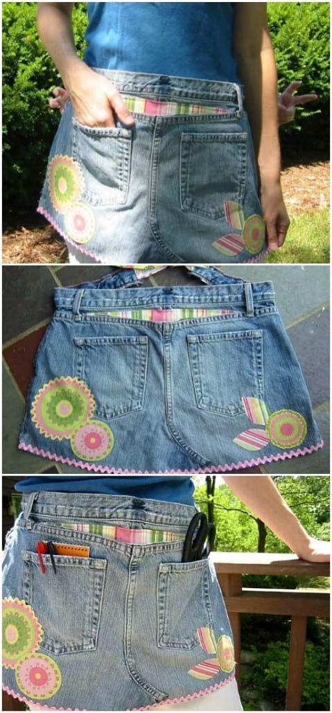 transformer un pantalon  en short