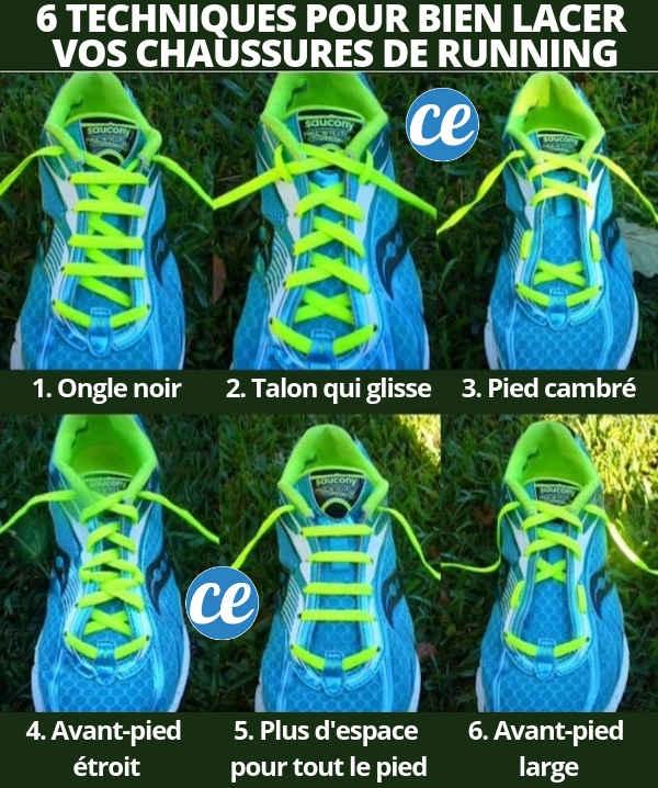 Saviez-vous que les trous en haut des chaussures de running ont une utilisation secrète ? Découvrez-là ici.