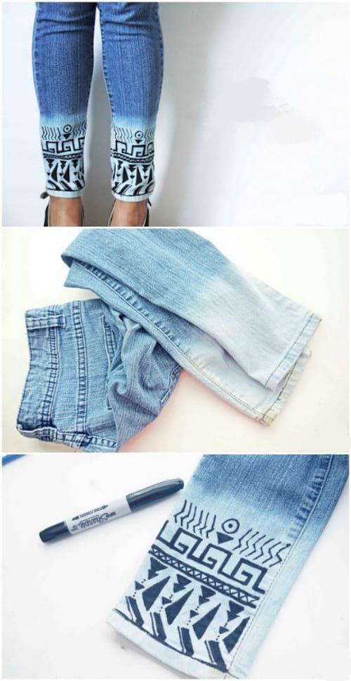 customiser son jeans facilement