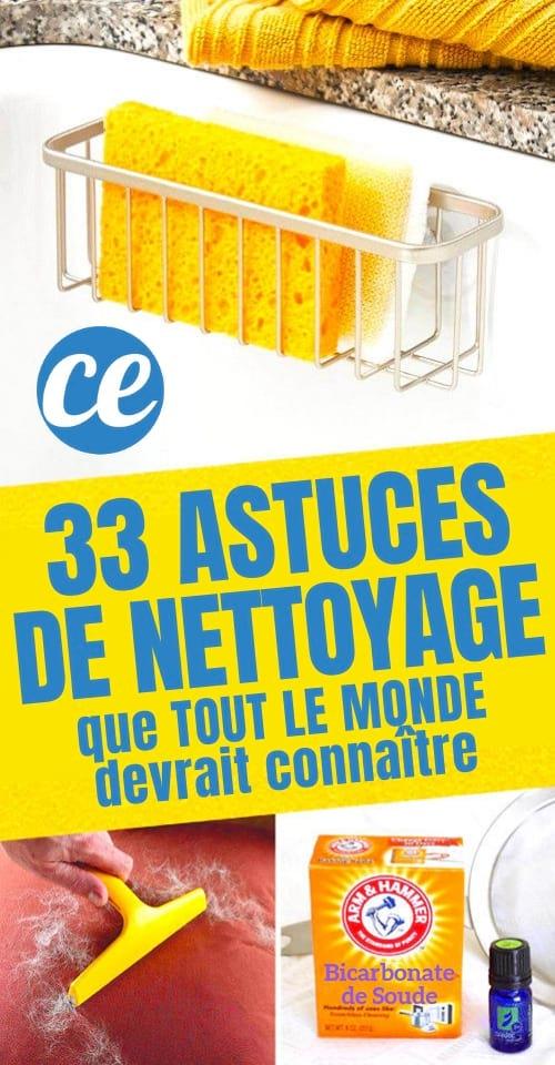 33 super astuces de nettoyage que tout le monde devrait conna tre. Black Bedroom Furniture Sets. Home Design Ideas