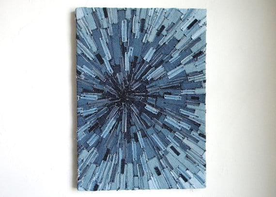 créer un tableau avec du jean