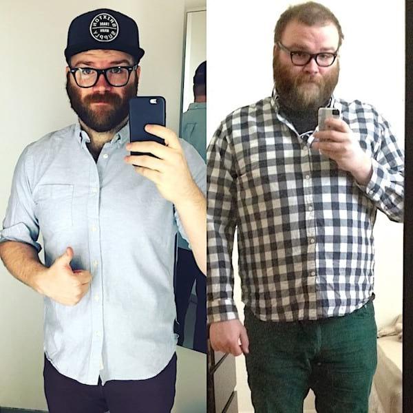 Avant et après avoir arrêté de boire de l'alcool
