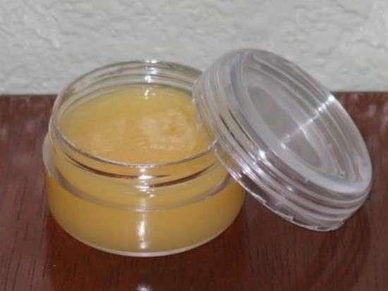 baume lèvres au germe de blé maison