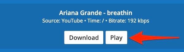 Cliquez sur le bouton Play pour écouter la chanson gratuitement