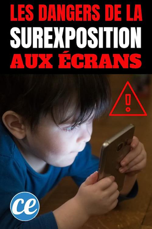 Les dangers des écrans sur le développement des enfants et des bébés