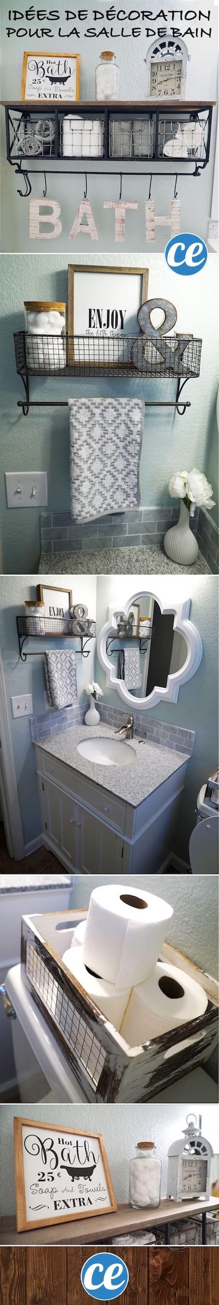 Rangement Papier Toilette Original 31 astuces de rangements au-dessus des wc (pour gagner de la