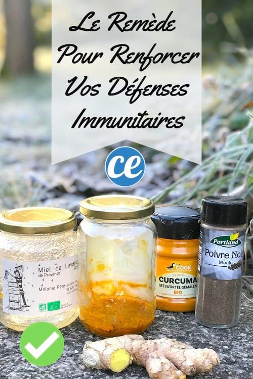 La recette du fortifiant naturel pour booster ses défenses immunitaires en hiver