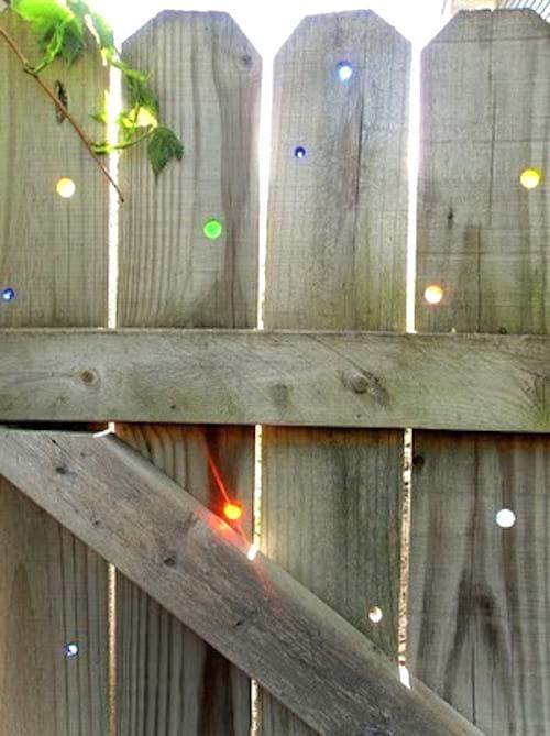 portail coloré diy