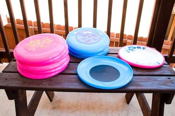 que faire avec de vieux frisbee