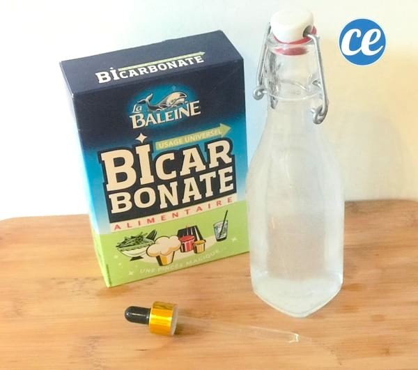 remède pour déboucher le nez avec de l'eau et du bicarbonate