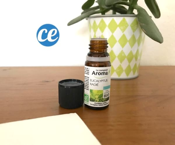 remède pour déboucher le nez avec de l'huile essentielle d'eucalyptus
