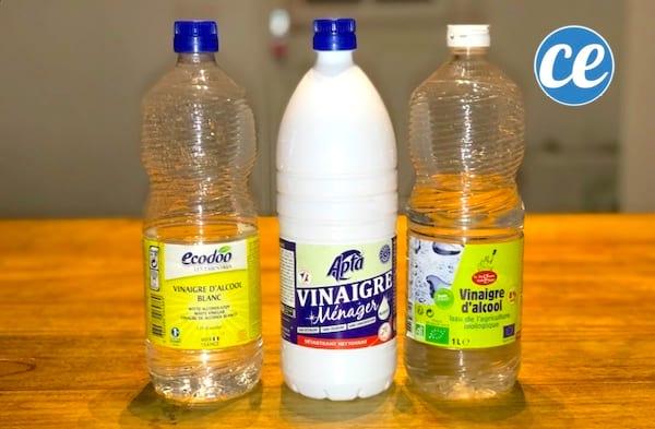 Les 3 meilleures utilisations du vinaigre blanc