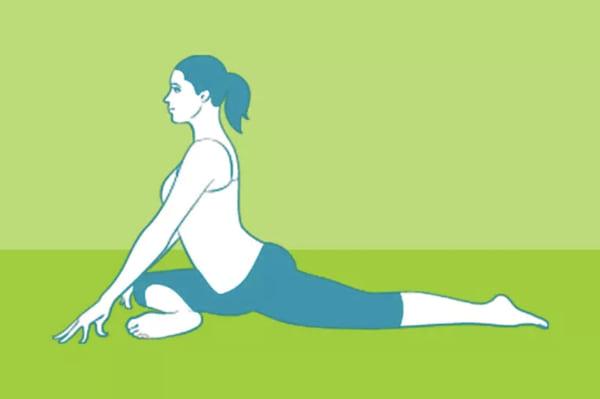 4 exercises faciles contre les douleurs de sciatique. Black Bedroom Furniture Sets. Home Design Ideas