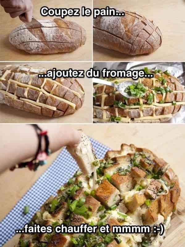 L'astuce pour faire du pain au fromage