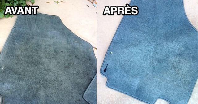 comment nettoyer les tapis de voiture sans effort. Black Bedroom Furniture Sets. Home Design Ideas