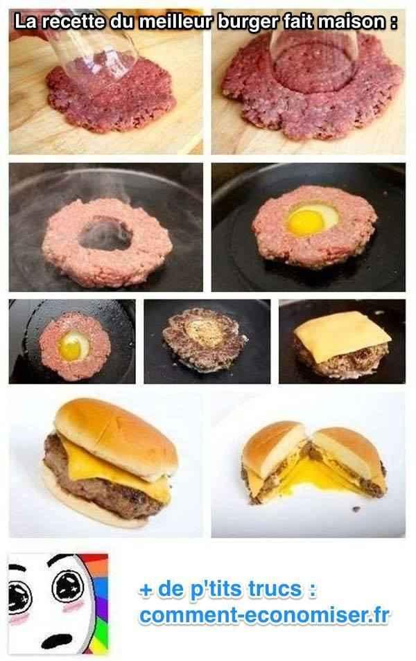 La recette du meilleur burger fait maison