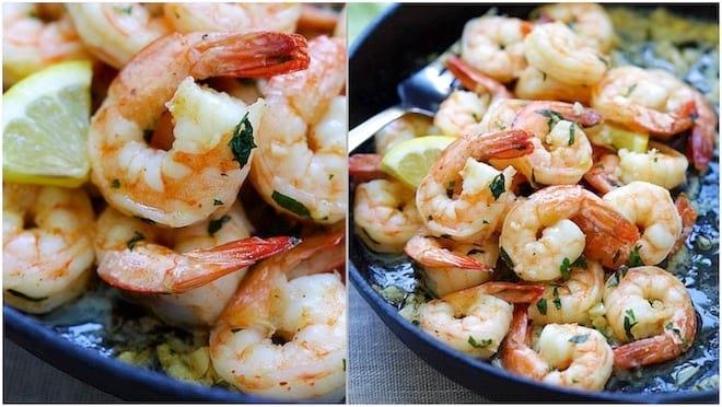 Recette des crevettes à l'ail et au persil : facile et rapide