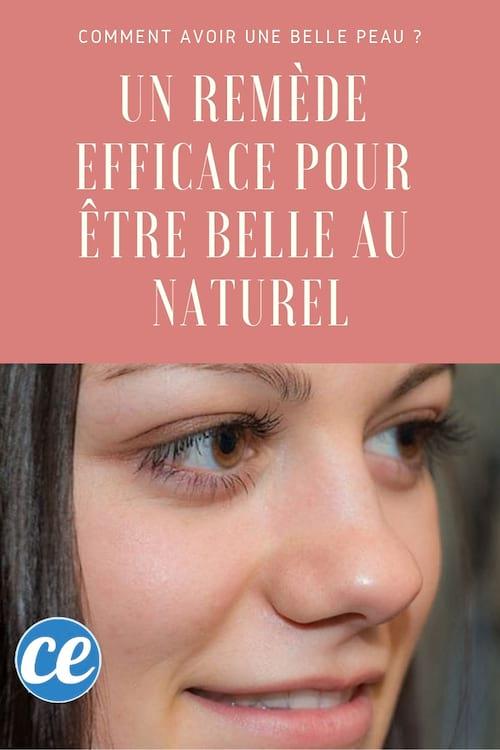 remèdes naturel jolie peau démaquiller