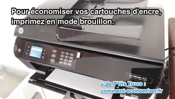 imprimante de bureau pour ordinateur