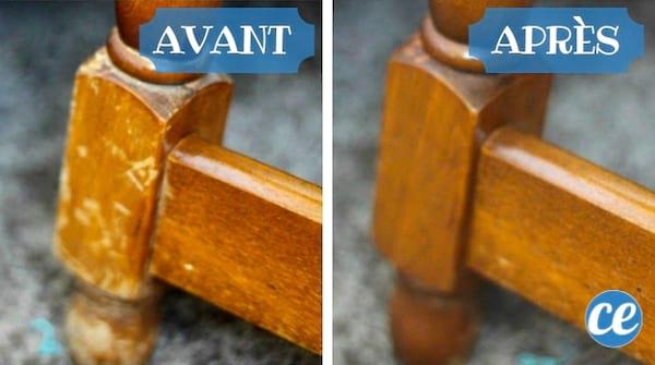 Voici l'astuce de grand-mère pour donner un coup de jeune à vos vieux meubles en bois !