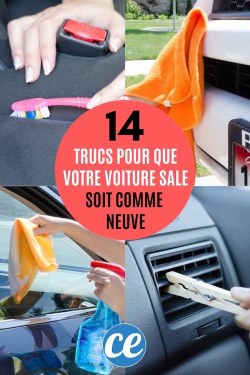 14 Astuces Incroyables Pour Que Votre Voiture Sale Soit Comme NEUVE.
