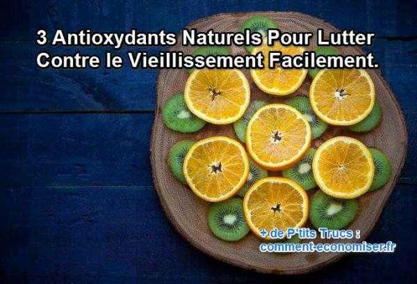 les fruits, les légumes et les huiles sont des antirides naturels