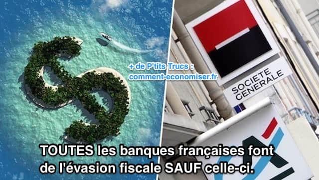 Toutes les banques françaises font de l'évasion fiscale