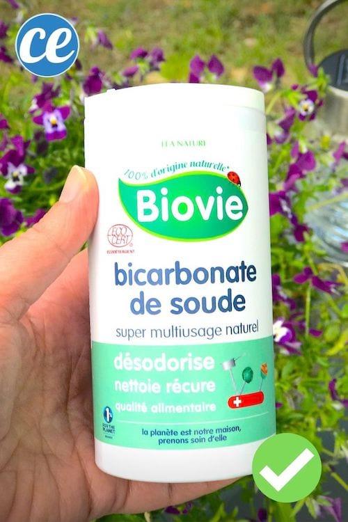 Du bicarbonate pour faire un déodorant efficace et naturel fait maison.